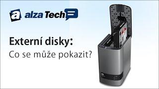 Jak se starat o externí disky: Co se může pokazit? - AlzaTech #85