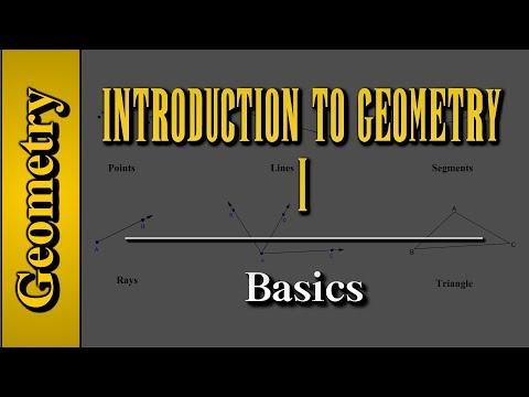 Geometry: Introduction to Geometry (Level 1 of 7) | Basics