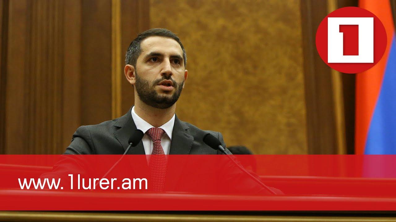 Ruben Rubinyan elected Vice Speaker of Parliament