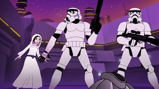 Star Wars Forces of Destiny | Bounty of Trouble | Disney