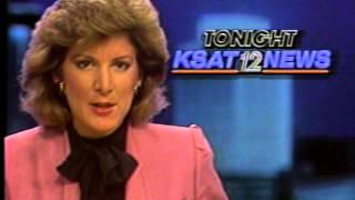 """Hollis Grizzard """"Behind The News Door"""" KSAT 1987"""