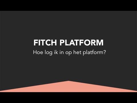 Inloggen op het Fitch Platform