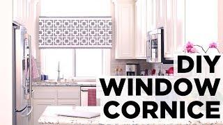 How To Make A Window Cornice Box - HGTV