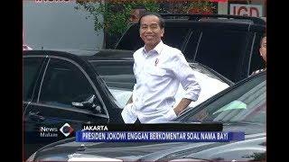 Senyum Bahagia! Jokowi Jenguk Anak dan Cucu Kedua di RSIA YPK Mandiri - iNews Malam 01/08