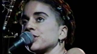 Ani Di Franco at the State Theatre in  Ithaca, New York 1995