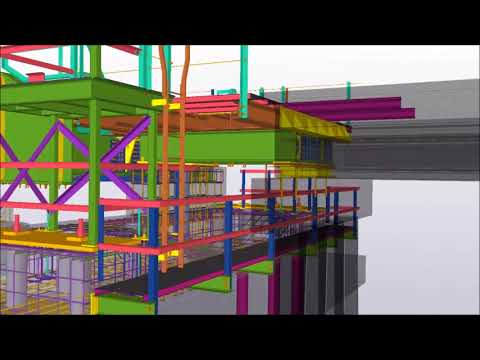 Des Allemands Bayou BNSF Swing Span Bridge Project by OCCI, Inc  | Tekla