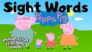 Sight Words With Peppa Pig - Level 1 List 1 Sight Words
