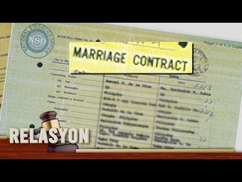 [News5]  Maling pangalan sa marriage contract
