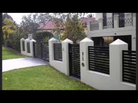 Compound Wall Design For Home | Modern Boundary Wall Design | Home Exterior Wall | Fence Wall