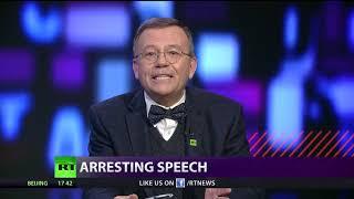 CrossTalk on Max Blumenthal: Arresting Speech