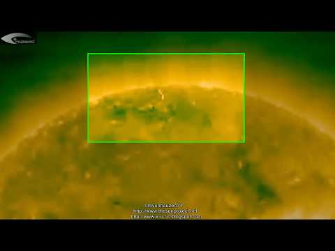 Giant UFOs, Aliens, & Anomalies near the Sun – Review of NASA images for December 3, 2012.
