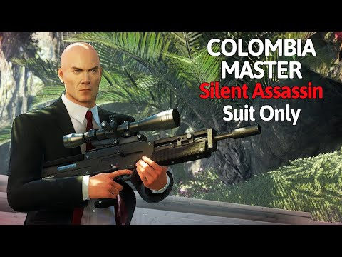 HITMAN 2 Master Difficulty Sniper Assassin Colombia (Silent Assassin/Suit Only) Ghost of The Jungle