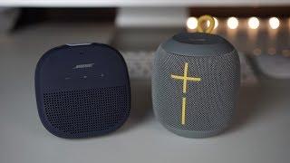 Bose Soundlink Micro vs Ue Wonderboom - Sound comparison...