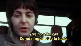 I wanna be your man - The Beatles (LYRICS/LETRA) [Original] (+Video)
