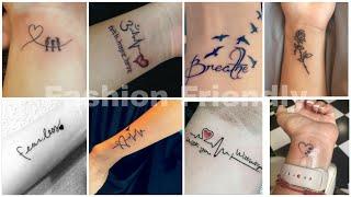 80+ Wrist Tattoos | Wrist Tattoo For Girls | Tattoo Designs For Girls - Fashion Friendly