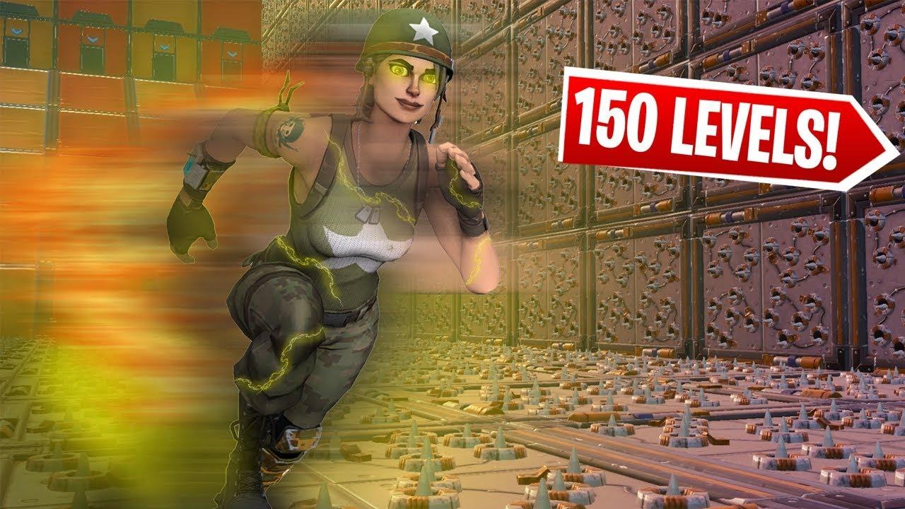 100 Level Flash Deathrun - Fortnite Creative - Fortnite Tracker
