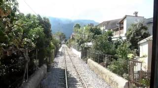 preview picture of video 'Soller/Mallorca 2014: Mit der Straßenbahn von Sóller zum Hafen'