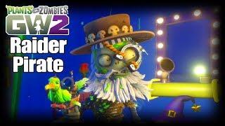Raider Pirate! Plants vs Zombies Garden Warfare 2