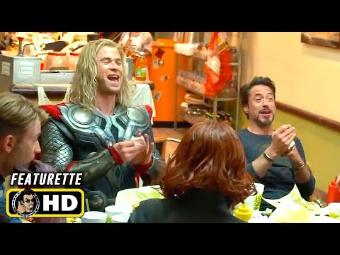 THE AVENGERS (2012) Filming the Shawarma Scene [HD] Behind the Scenes