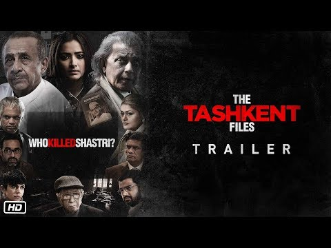 The Tashkent Files - Movie Trailer Image