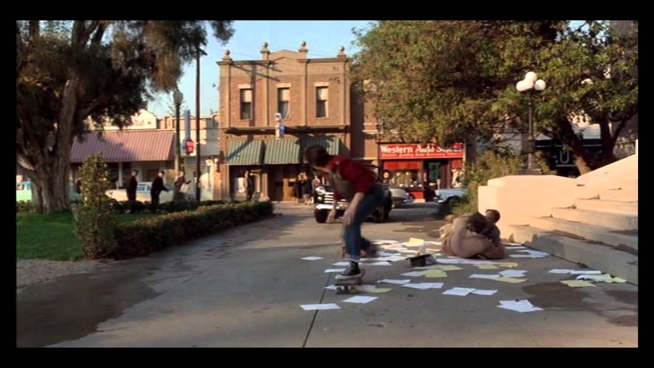 Back To The Future Skateboard Scene, Acapella Style