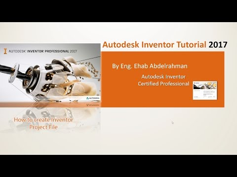 Stupendous How To Create Inventor Project File Cad Flag Download Free Architecture Designs Lukepmadebymaigaardcom