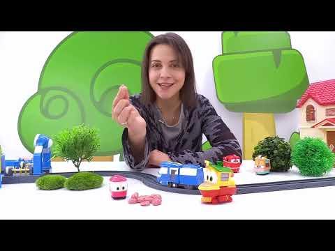 Детский сад Капуки Кануки: 2 смена - Роботы поезда в садике