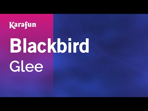 Karaoke Blackbird - Glee *