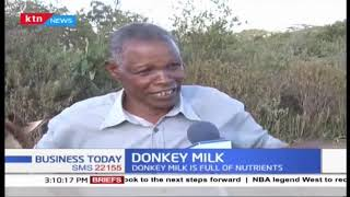 Naivasha farmer curves own niche in Donkey Milk production