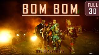 Yenddi, Abraham Mateo   BOM BOM (FULL 3D Audio, Ft. De La Ghetto + Jon Z)┃★USE HEADPHONES!