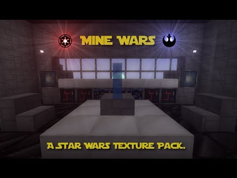 Mine Wars A Star Wars Texture Pack Minecraft Texture Pack - Minecraft spielen ohne download 3d