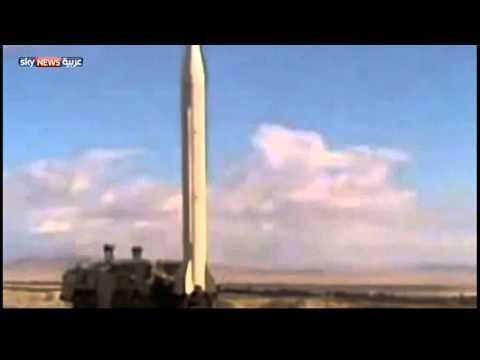 أول فيديو لإطلاق صواريخ سكود بسوريا