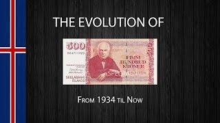 The Evolution of the Icelandic 500 Króna Note