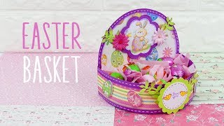Cesto Pasquale Fai Da Te Idea Regalo - DIY Easter Basket