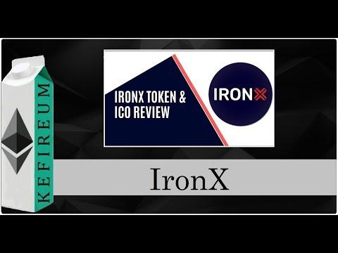 IronX – биржа мирового уровня, совмещающая фиат и криптовалюты