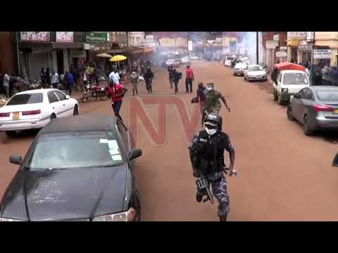 Police use teargas to disperse Bobi Wine supporters