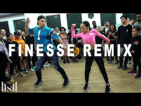 FINESSE (Remix) - Bruno Mars Ft Cardi B Dance | Matt Steffanina Mp3