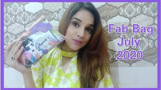 Fab Bag July 2020 | Two Sugar Makeup | Unboxing  +  Review |