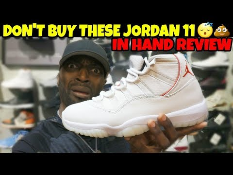 19c746752475f6 Download Don t Buy Jordan 11 Platinum Tint!! It s Not Worth  220!! In Hand  Review MP3