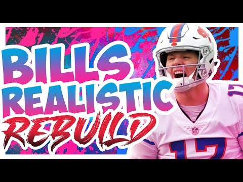 Rebuilding The Buffalo Bills - Madden 20 Connected Franchise Realistic Rebuild
