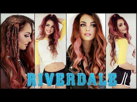 Toni Topaz Pink HAIRSTYLES & Coming Out | the cw RIVERDALE Tutorial