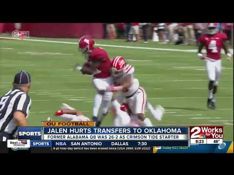 0f70dd5f3 Former SEC Offensive Player of the Year Jalen Hurts transfers from Alabama  to Oklahoma