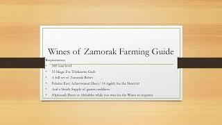 wines of zamorak osrs ironman - Thủ thuật máy tính - Chia sẽ