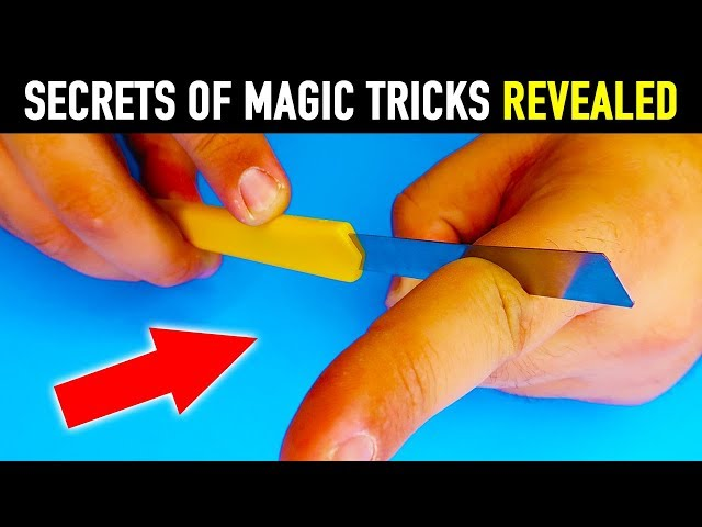 11 Impossible Magic Tricks You Can Do