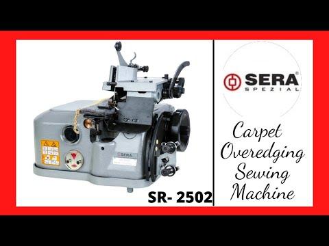 Carpet Over-Edging Machine