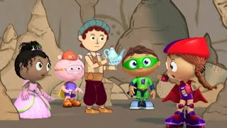 Super WHY! Full Episodes ✳️ Aladdin ✳️ Cartoon For Kids | Reading For Kids