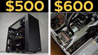 $500, $600 ULTRA 1080P GAMING PCS! - Budget Gaming PC Builds November 2016!