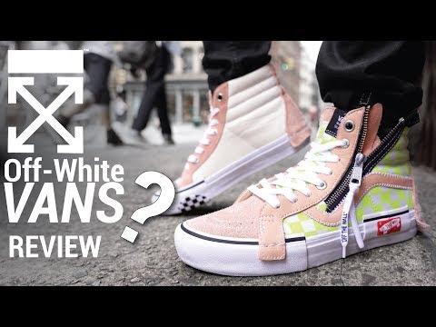 VIRGIL'S SECRET OFF WHITE VANS: VANS SK8 Hi DECONSTRUCTED REVIEW