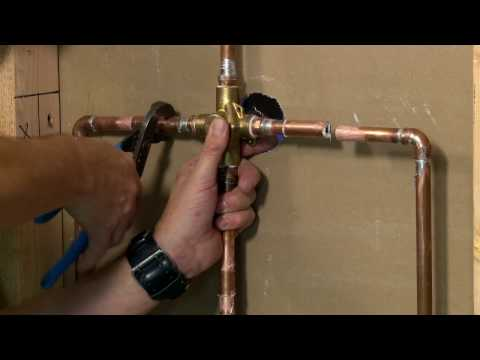 Single Handle Shower and Tub Valve Replacement
