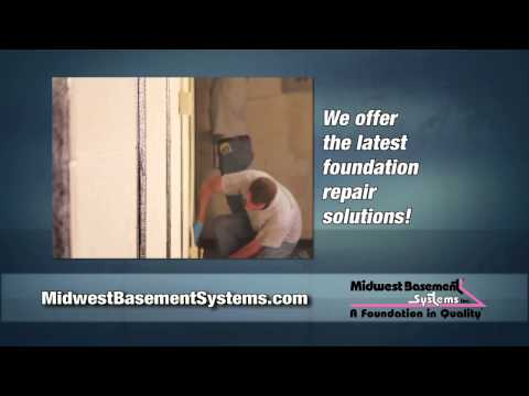 Bowing Basement Wall Solutions by Midwest Basement Systems